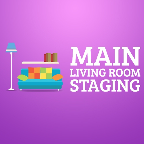 Main Living Room Staging