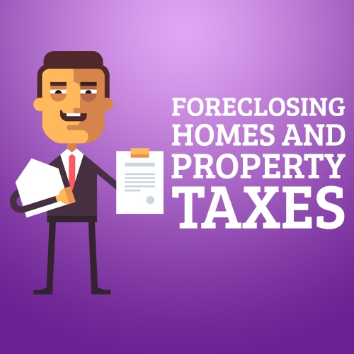 Foreclosing Homes and Property Taxes